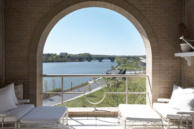 Most Expensive Homes on the Market: A $5 Million Penthouse on the Georgetown Waterfront | The Real Estate Market | Washingtonian
