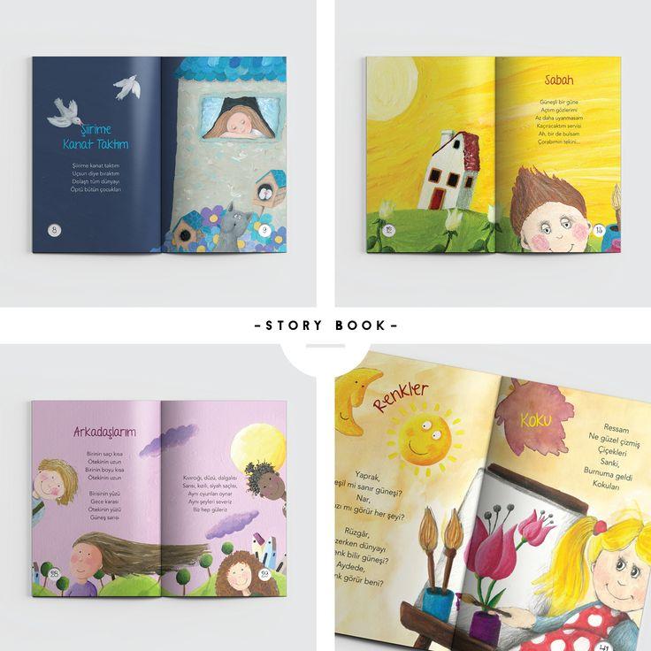 graphic designer • derya balcı | uçan şiirler | author • mavisel yener - aytül akal | publishing house • inkılâp kitabevi