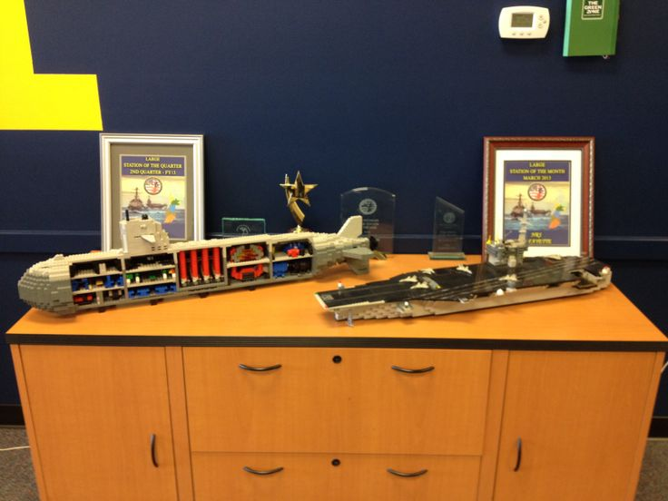 Lego Navy at the U.S. Navy recruiting office Lafayette Indiana