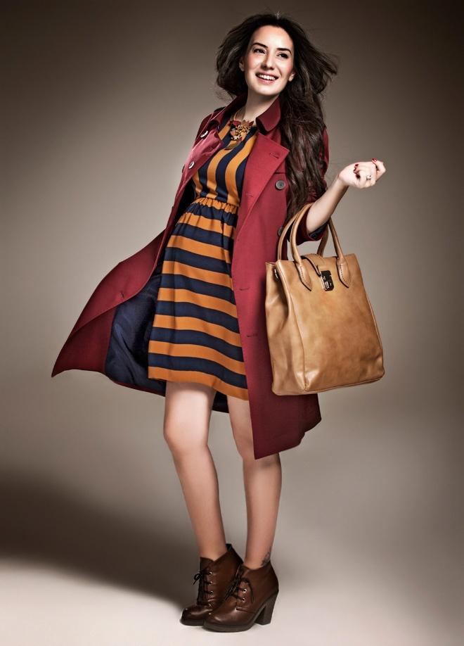 ROMAN Elbise Markafoni'de 169,00 TL yerine 78,99 TL! Satın almak için: http://www.markafoni.com/product/3335614/