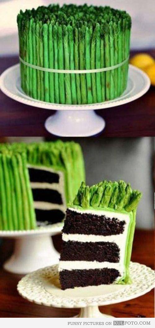 Vegan cake - Funny cake looking like vegetables.