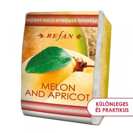 Sárgadinnye & Barack szivacsos szappan - 2 az 1-ben bőrfeszesítő szivacsos szappan a mézédes sárgadinnye és lédús sárgabarack elragadó illatával. Gyengéd bőrradírozó és feszesítő hatású. Mindennapi használata megelőzi a narancsbőr kialakulását, serkenti a vérkeringést. ©Refantázia