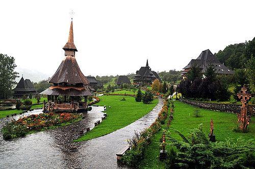 Manastirea Birsana - Barsana Monastery.