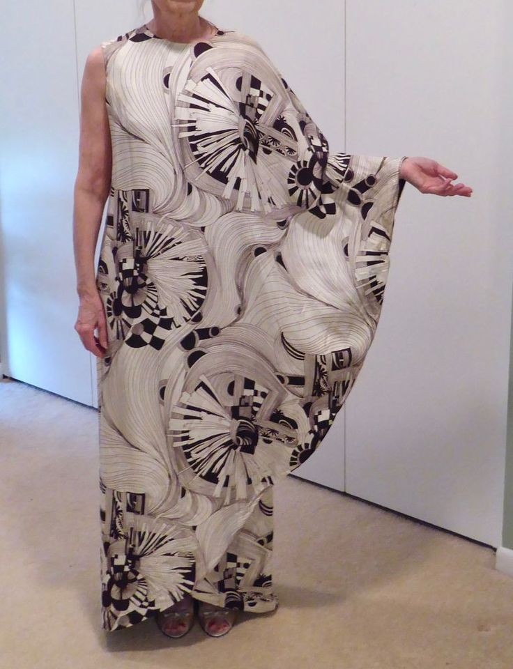 vintage 60's Saks Fifth Avenue dress/caftan #SaksFifthAvenue #Caftan