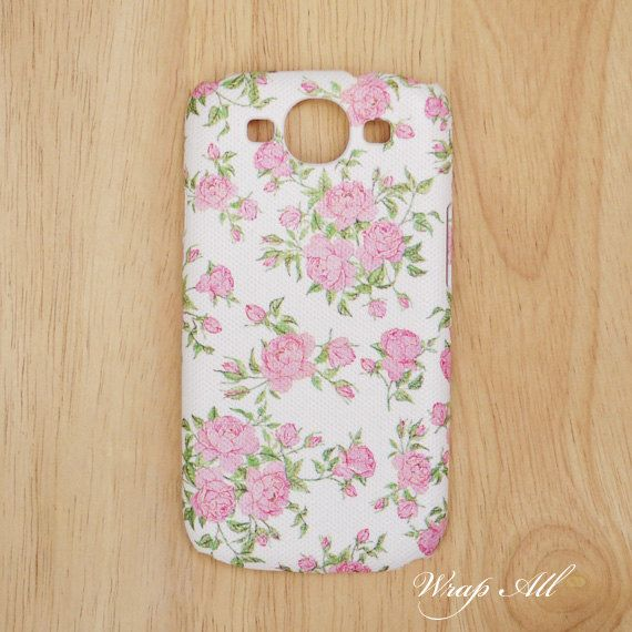 Little Pink Roses Samsung Galaxy S3 case / Samsung by WrapAll