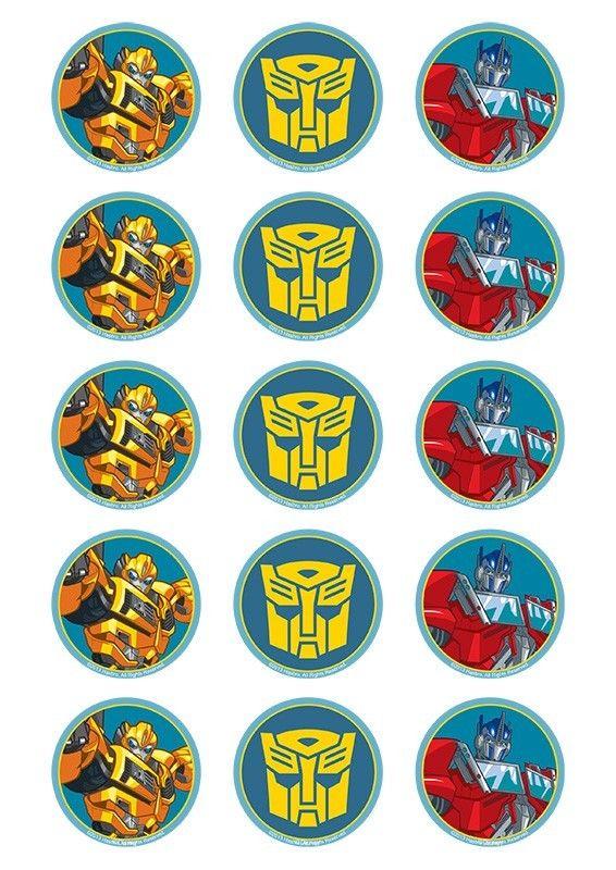 Imprimibles transformers