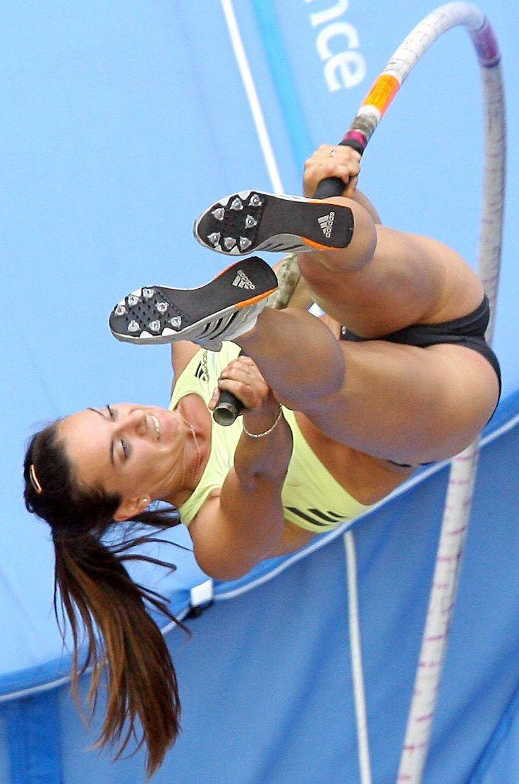 Pole Vaulter Yelena Isinbayeva's Sublime Buttocks To Be Ogled