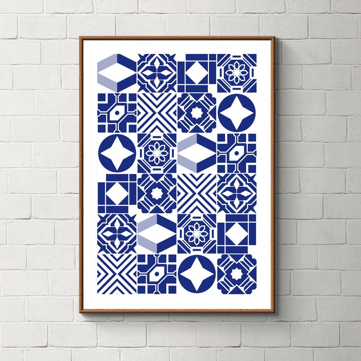 032_PrintAzulejos, Azulejos, Poster, Wall, Printable, Portugal, Pattern, Tiles, Photography, Instant download