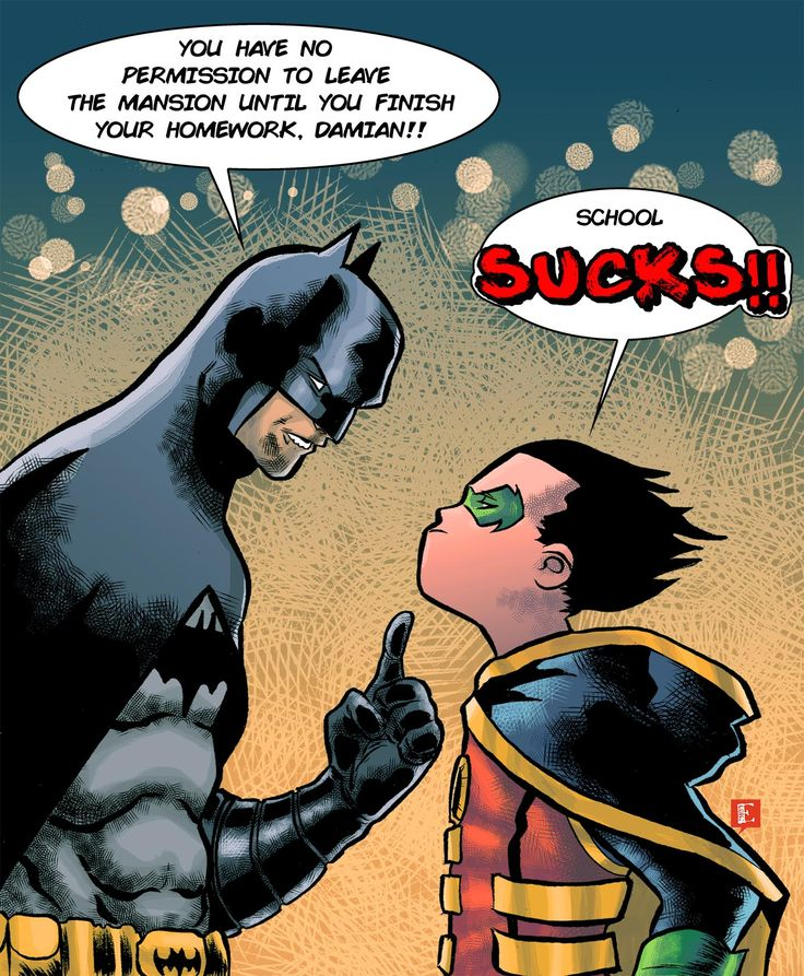 Batman has parental issues too. Batman & Robin