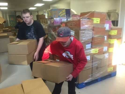 Mobile food pantry goes where it is needed