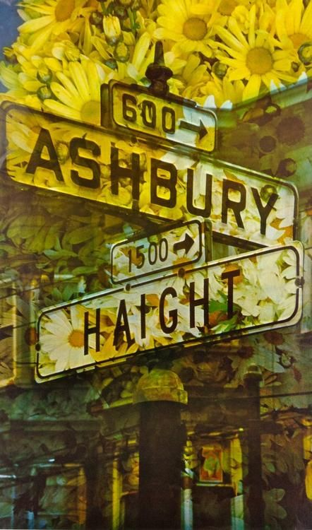 Haight Ashbury in San Francisco saw many flower children in 1967 during the Summer of Love.