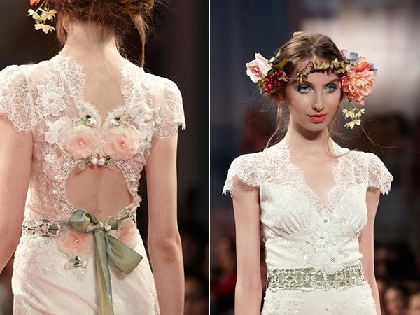 коллекция свадебных платьев Claire Pettibone