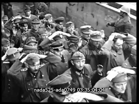 Derniers jours de guerre : Mulhouse, Reims, St-Lo - YouTube
