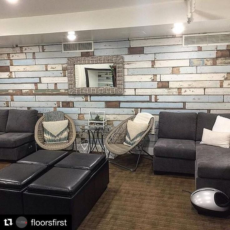 Looking to do a feature wall? This laminate perfects the weathered look for a fun beach or cottage feel in your home or vacation property. Visit us in store to learn more!