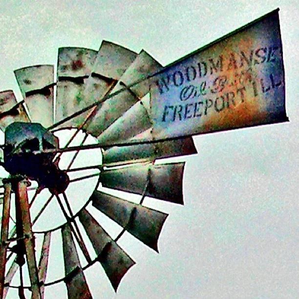 Old windmill that was once built here in Freeport - @Frank Burder LeFevre- #webstagram