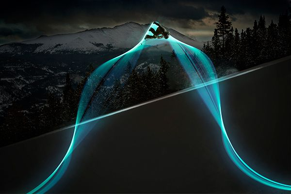 light trails project on Behance