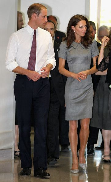 July 2, 2011 - Prince William, Duke of Cambridge and Catherine, Duchess of Cambridge visit Sainte-Justine University Hospital in Montreal, Canada.