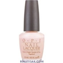 "OPI nail polish ""Bubble Bath""  Pale & Translucent ... perfect for summer"