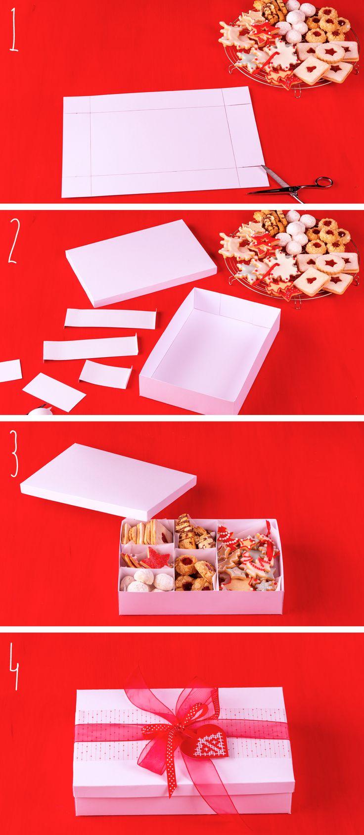 De beste binnenkomer van deze kerst: je eigen koekdoosje met zelfgebakken koekjes. Geeft leuk, eet leuk, is leuk. Bekijk de video op ah.nl/allerhande voor de complete uitleg - DIY - Allerhande