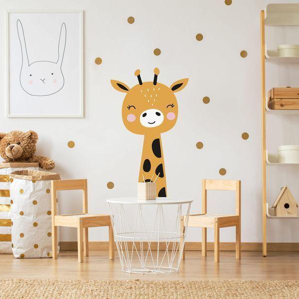 Wandtattoo Kinderzimmer Baby Giraffe In 2020 Baby Wandtattoo Wandtattoo Kinderzimmer Wandtattoos Kinderzimmer