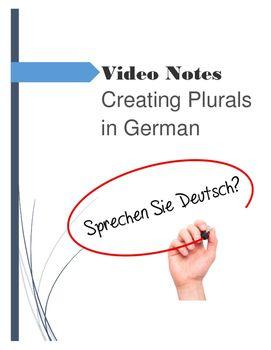 Plural Nouns Patterns Video Guide