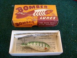 Bomber Lures vintage lure 8988