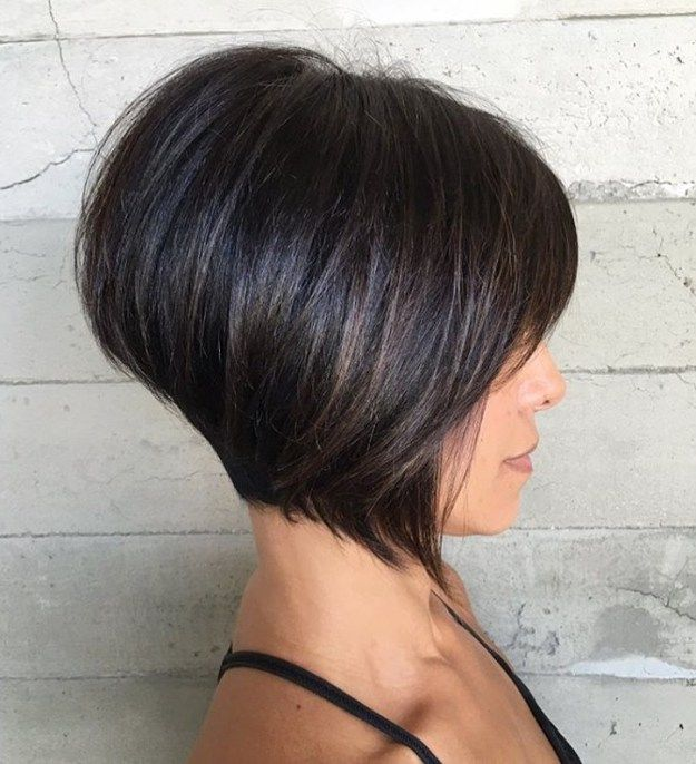 layered haircuts from the back 17 best ideas about bobs for thick hair on 4614
