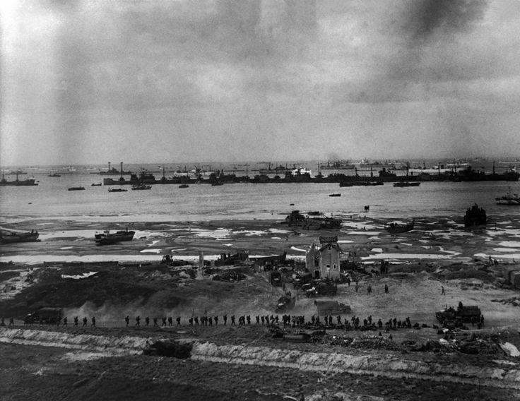 what happened on omaha beach 1944