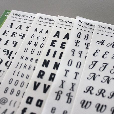 um, Letter Set Transfers, dry transfer rub-down lettering wow - transfer letter