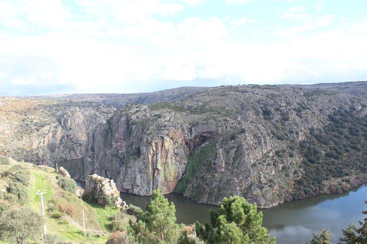 Views of Spain from Miranda do Douro