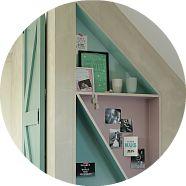 Van nutteloze zolder naar slaapkamer | Eigen Huis & Tuin. Het pronkkastje wat ik heb gemaakt