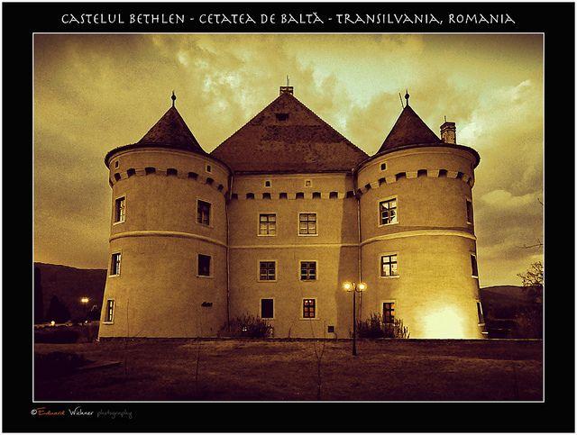 Castelul Bethlen-Haller, Cetatea de Balta - Eduard Wichner