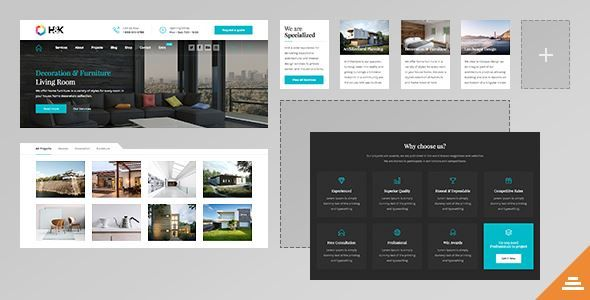 ThemeForest - Hnk - Business and Architecture WordPress Theme  Free Download