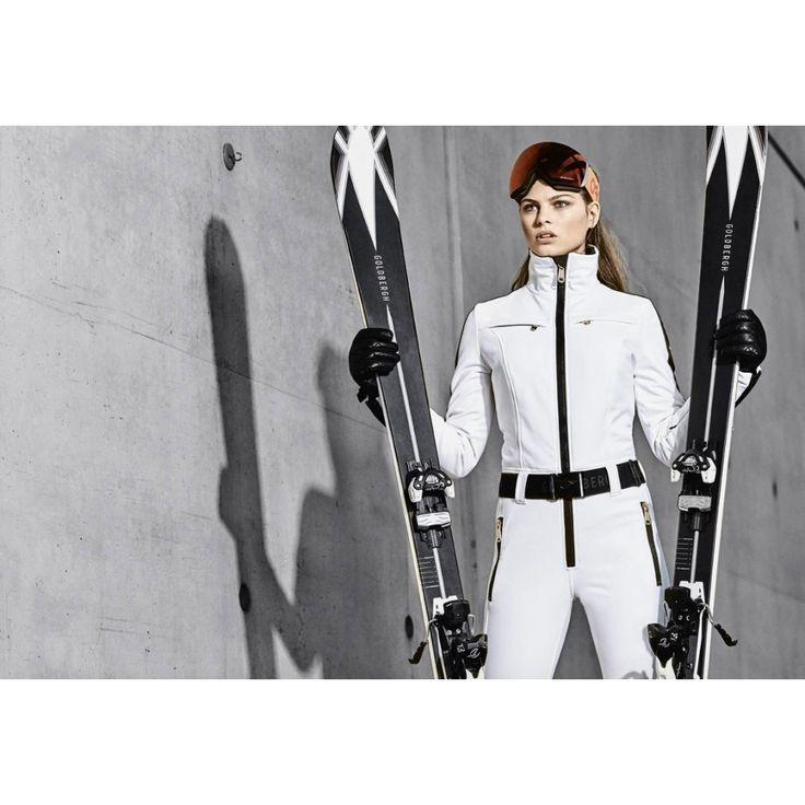 Phoenix Womens Ski Suit in White - https://www.white-stone.co.uk/womens-c273/ski-c277/ski-suits-c312/goldbergh-phoenix-womens-ski-suit-in-white-p6391