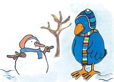 Afbeeldingsresultaat voor raai de kraai en winter