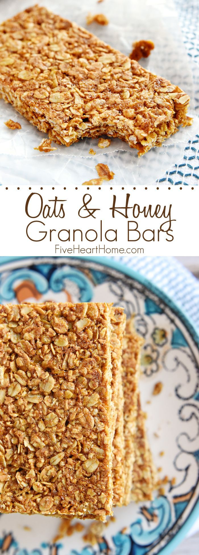 Oats & Honey Granola Bars FoodBlogs.com