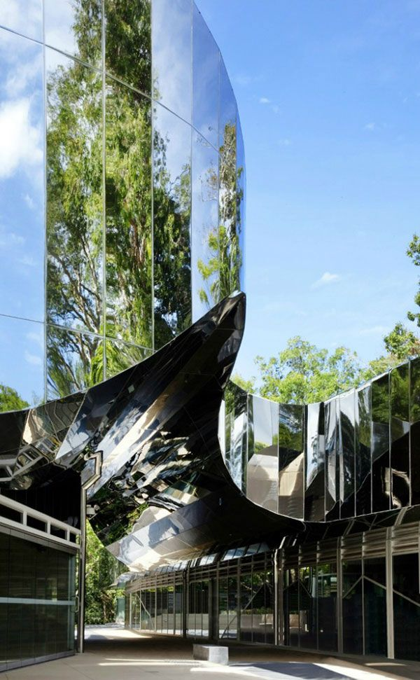 Cairns Botanic Gardens Visitors Center, Cairns, Australia by Charles Wright Architects
