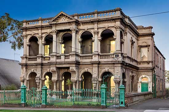Lalor House, Richmond Hill, Nr Melbourne: a grand Italianate mansion, one of several Melbourne properties designed by famous American architect William George Woolf - 1880s.. Picture: Jellis Craig