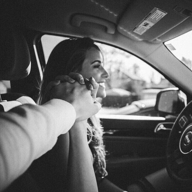 целоваться за рулем фото когда