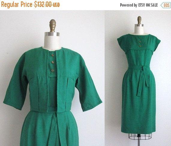 VENTE 30 % de réduction robe des années 1960 par CanaryClubVintage