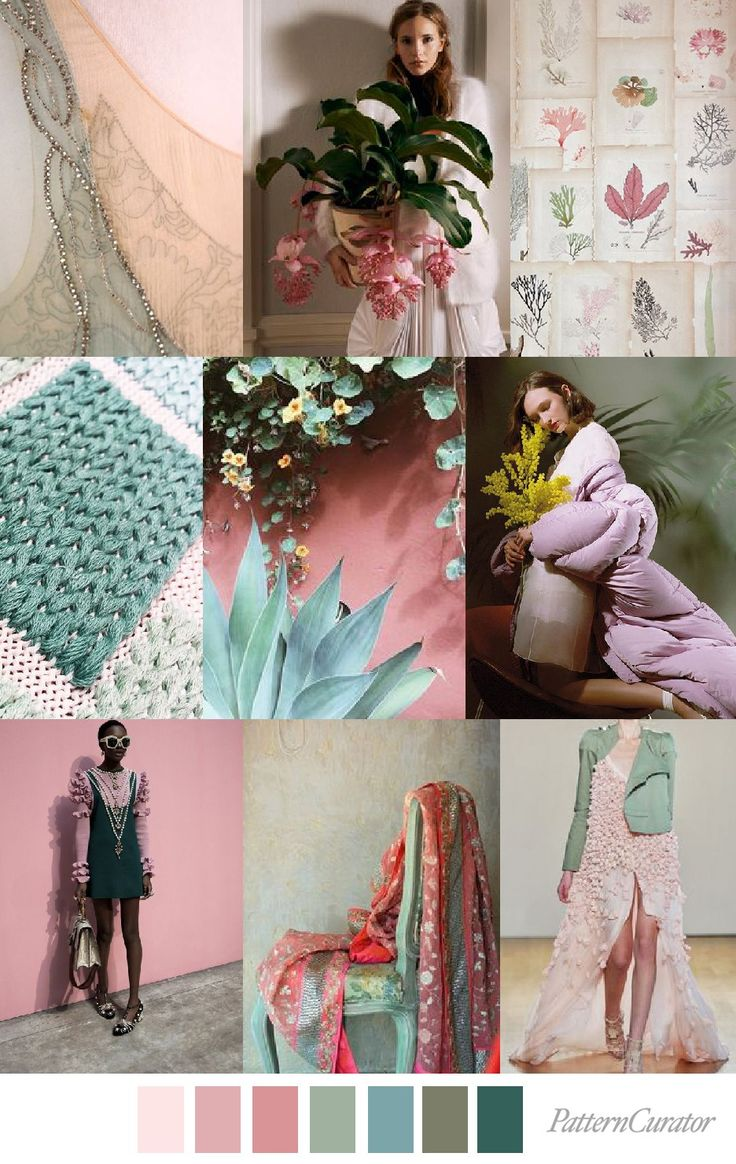 PLANTS ON PINK | pattern curator | Bloglovin'