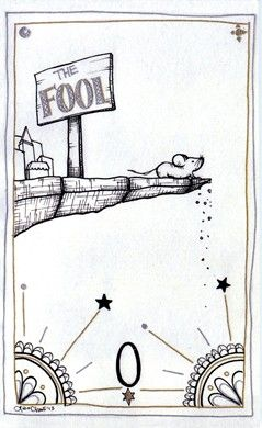 Fool from the Lisa Chow Oracle Tarot