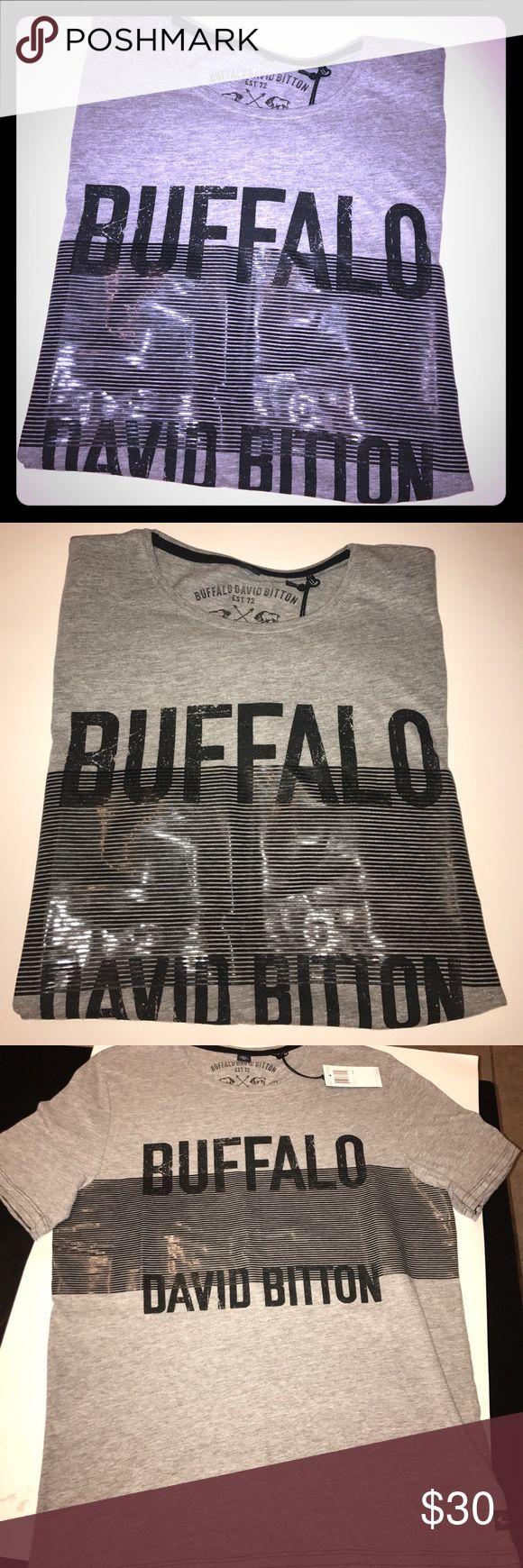Men's Buffalo David Bitton Tshirt New with tags, size medium, 80% cotton 12% spandex Buffalo David Bitton Shirts Tees - Short Sleeve