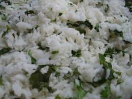 Cilantro Lime Rice Recipe (hoping it will be like Wahoo's)  Levi LOVES this stuff!