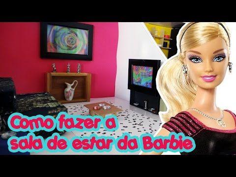 Casa da Barbie - Lavanderia (Área de Serviço) - YouTube