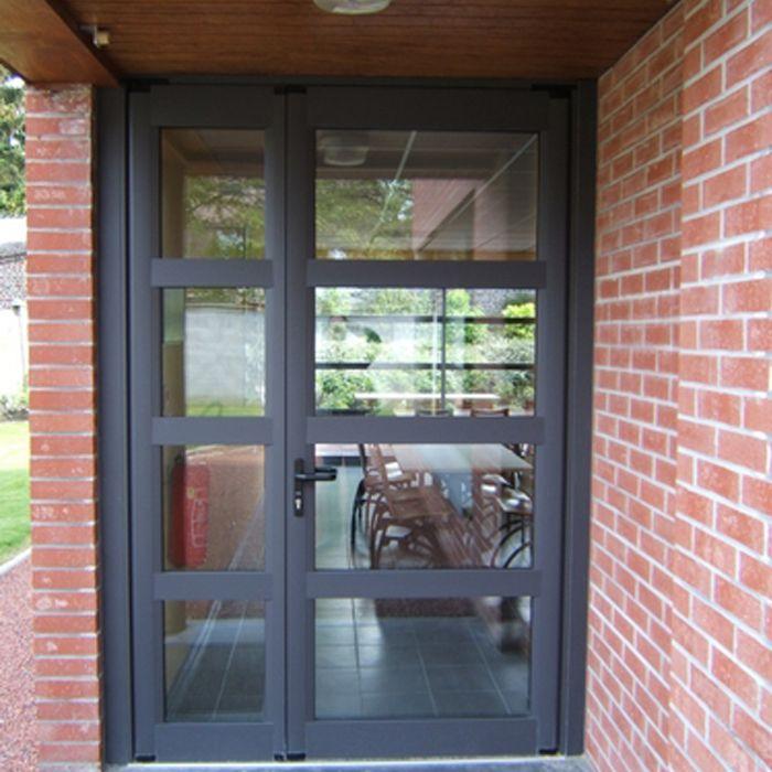 Les 25 meilleures id es concernant porte d entree vitree Porte d entree technal