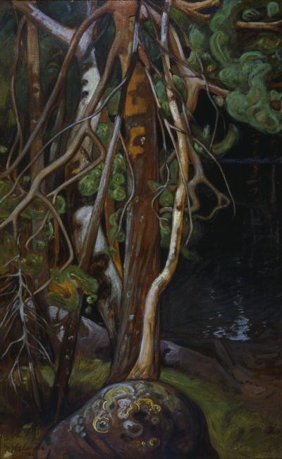 PEKKA HALONEN Autumn (1901)