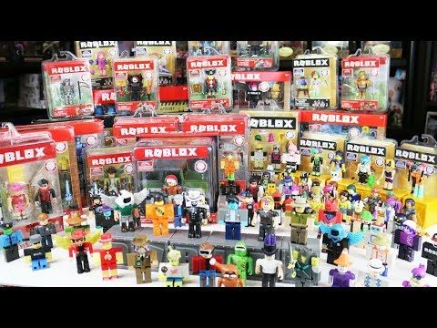 My Complete Roblox Toy Collection Tour! Series 1, Series 2