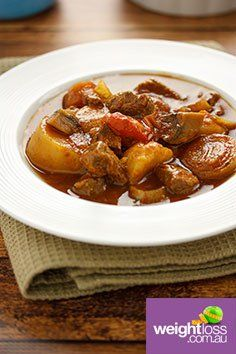 French Lamb Casserole. #HealthyRecipes #DietRecipes #WeightLossRecipes weightloss.com.au