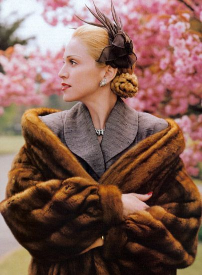 Madonna as Evita by Steven Meisal